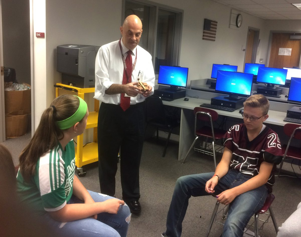 Curriculum exchange program gives Herkimer students STEM experience