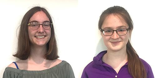 Meet Cassie Pontius and Angelica Huhko