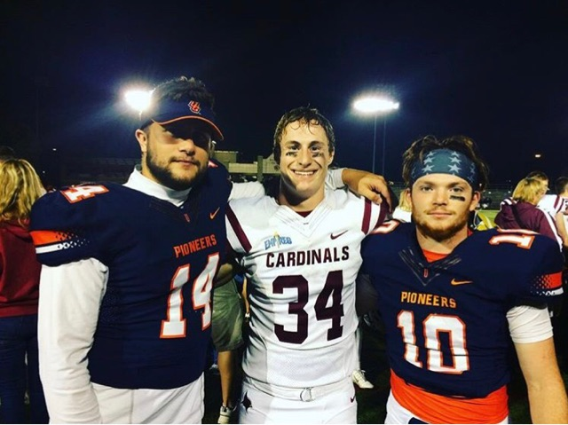 HHS alums meet in college football matchup