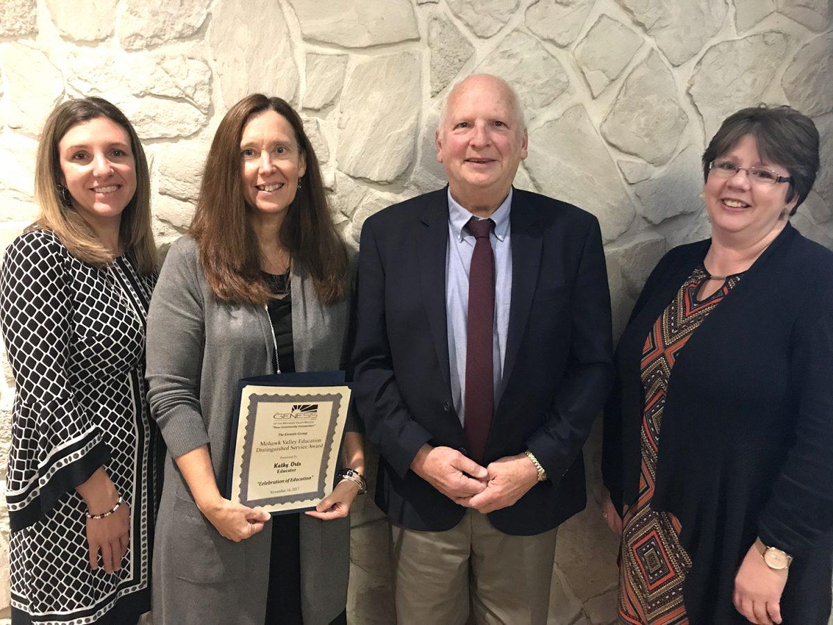 Social worker honored by Genesis Group