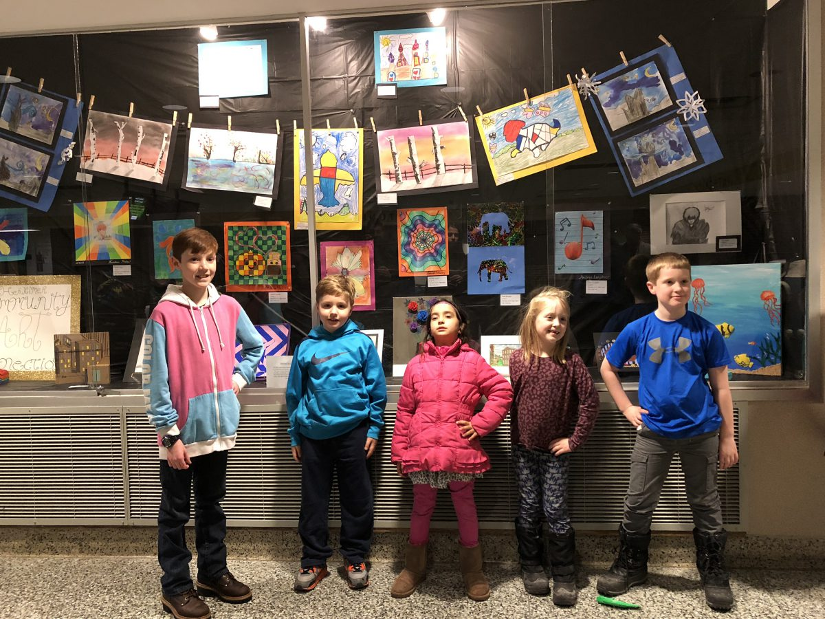 Student art show marks Youth Art Month