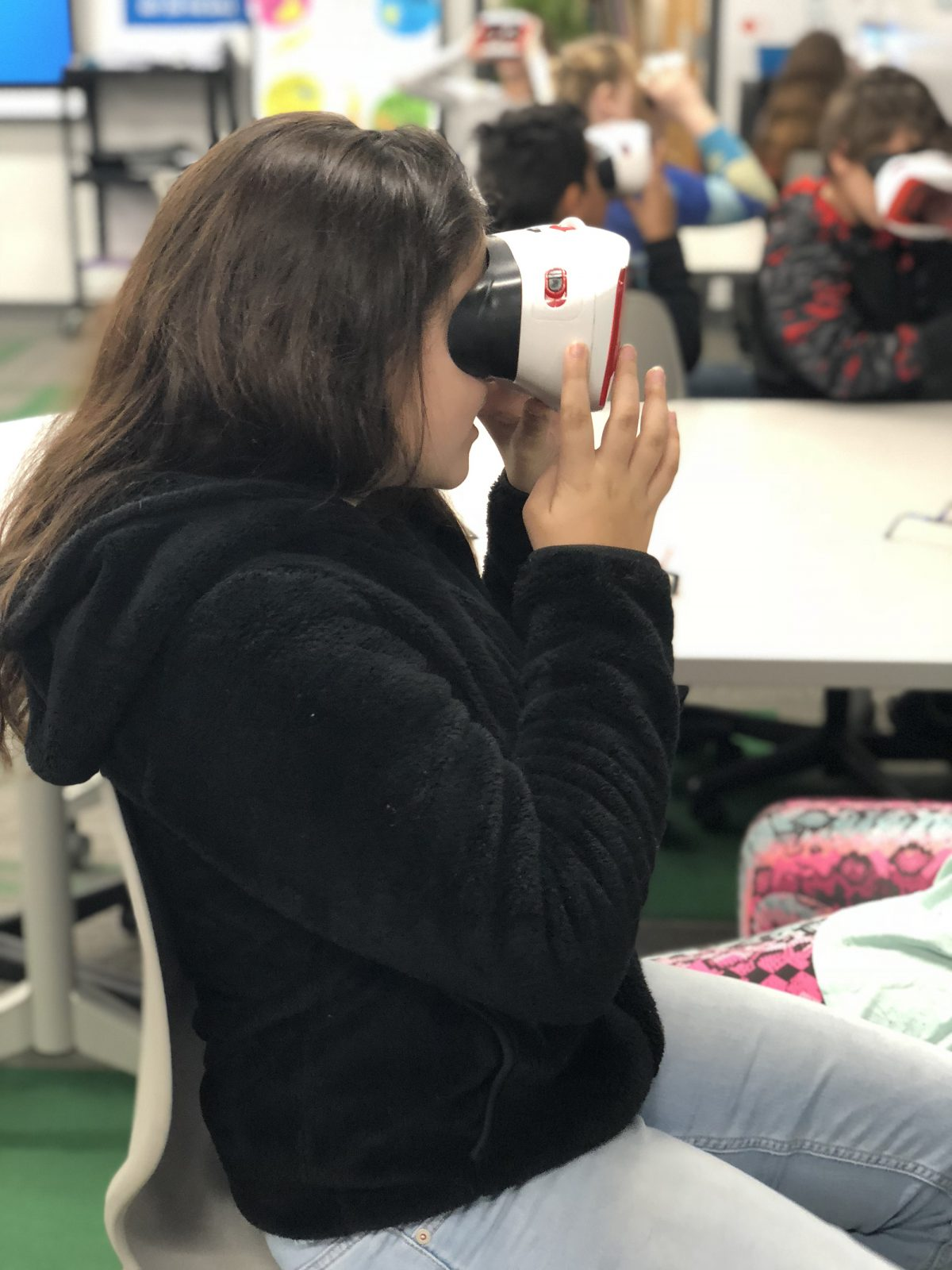 Students take virtual journeys around the world