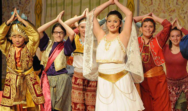 Students perform 'Aladdin Jr.'