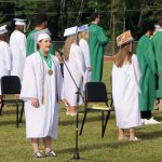 Members of the Class of 2021 at graduation